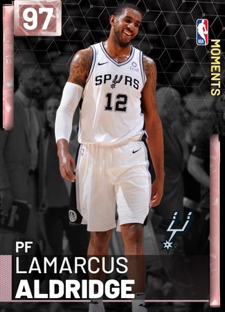 LaMarcus Aldridge pinkdiamond card