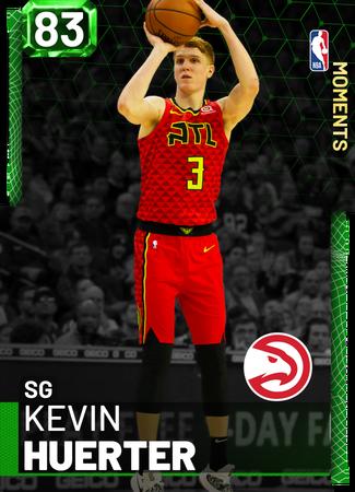 Kevin Huerter emerald card