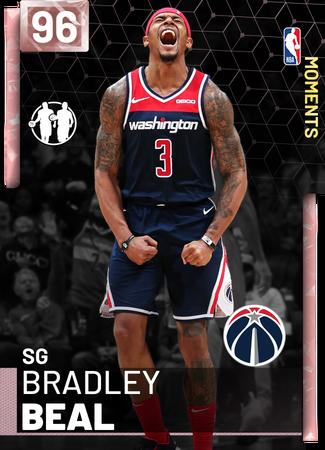 Bradley Beal pinkdiamond card