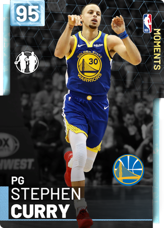 Stephen Curry diamond card