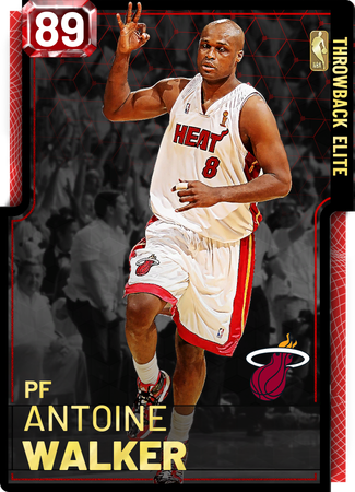 '08 Antoine Walker ruby card