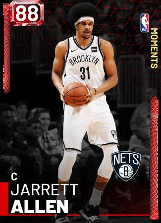Jarrett Allen ruby card