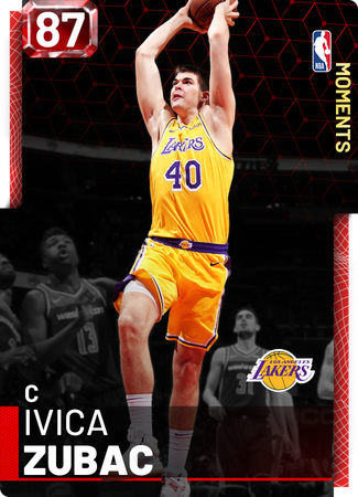 Ivica Zubac ruby card
