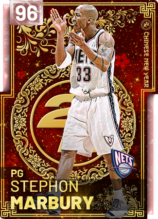 '03 Stephon Marbury pinkdiamond card