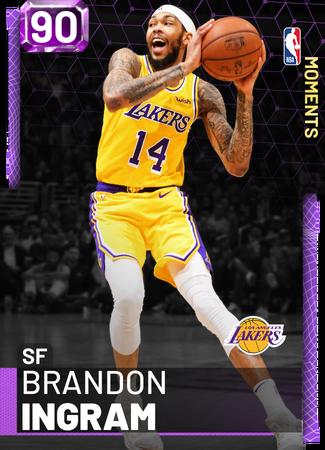 Brandon Ingram amethyst card