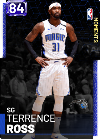 Terrence Ross sapphire card