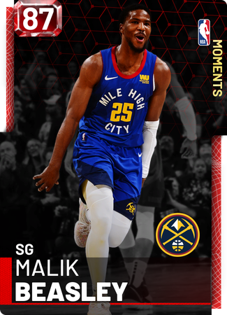 Malik Beasley ruby card