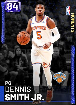 Dennis Smith Jr. sapphire card