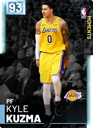 Kyle Kuzma diamond card