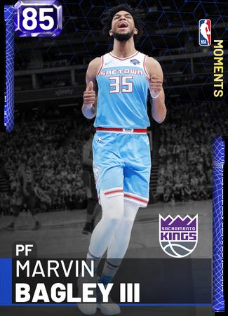 Marvin Bagley III sapphire card