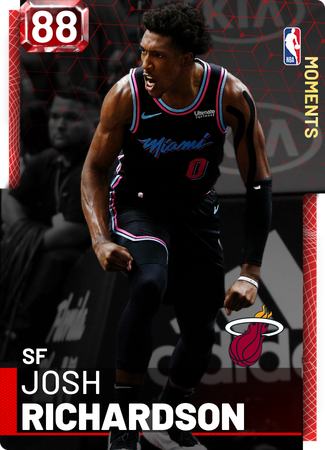 Josh Richardson ruby card