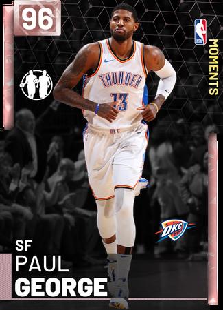 Paul George pinkdiamond card