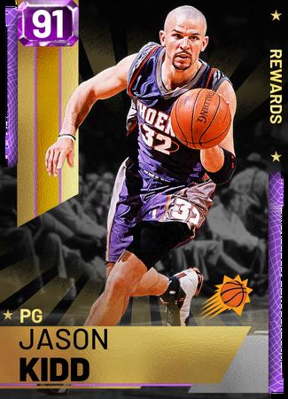 '13 Jason Kidd amethyst card