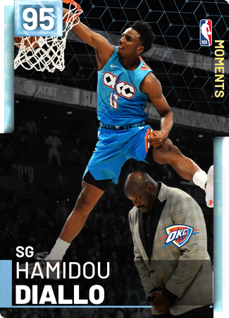 Hamidou Diallo diamond card
