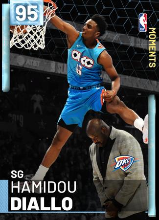 Hamidou Diallo diamond card