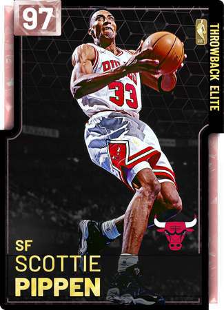 '95 Scottie Pippen pinkdiamond card