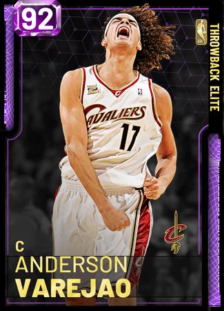 '07 Anderson Varejao amethyst card