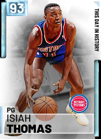 '82 Isiah Thomas diamond card