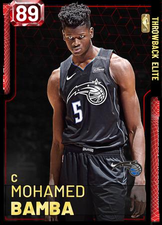 Mohamed Bamba ruby card