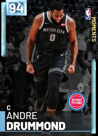 Andre Drummond diamond card