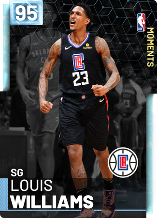Louis Williams diamond card