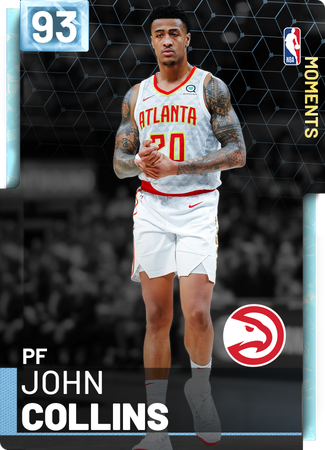 John Collins diamond card