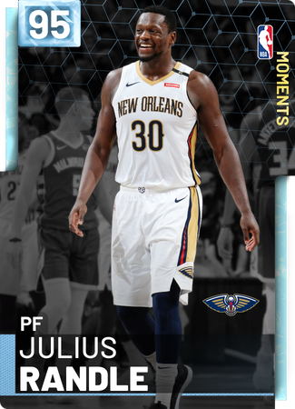 Julius Randle diamond card