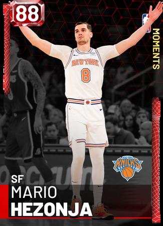 Mario Hezonja ruby card