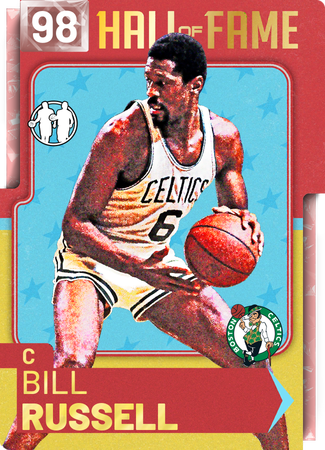 '65 Bill Russell pinkdiamond card