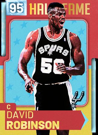'98 David Robinson diamond card
