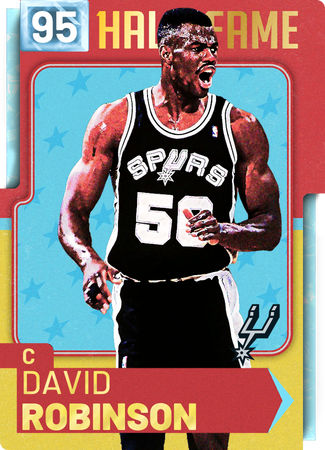 '98 David Robinson diamond card
