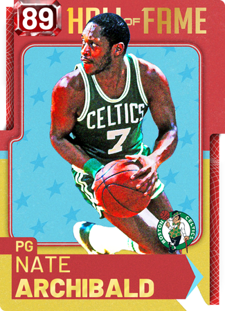 '84 Nate Archibald ruby card