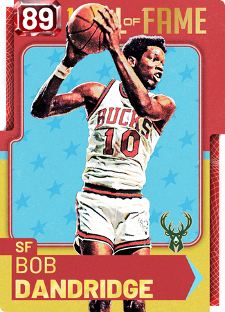 '71 Bob Dandridge ruby card