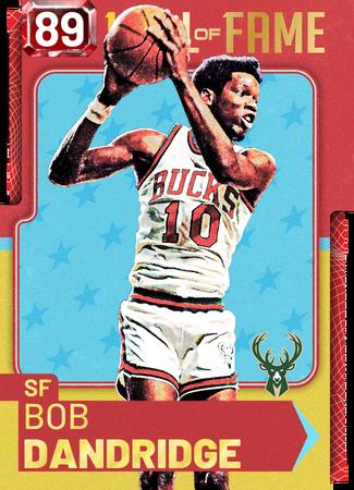 '71 Bob Dandridge ruby card
