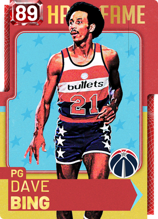 '78 Dave Bing ruby card