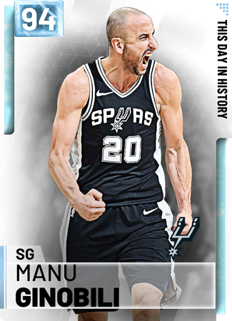 '05 Manu Ginobili diamond card