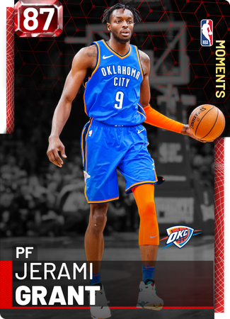 Jerami Grant ruby card