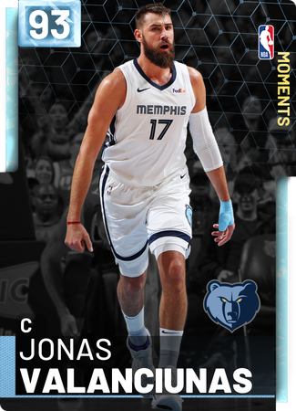 Jonas Valanciunas diamond card