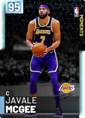 JaVale McGee diamond card