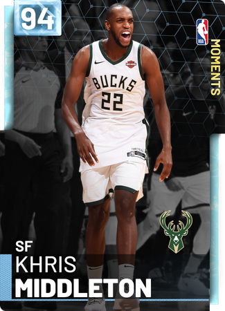 Khris Middleton diamond card