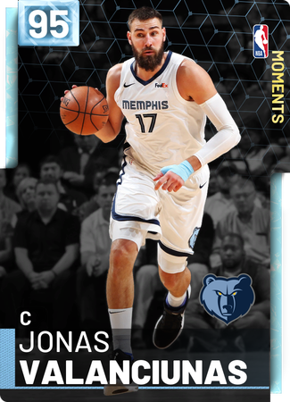 Jonas Valanciunas diamond card