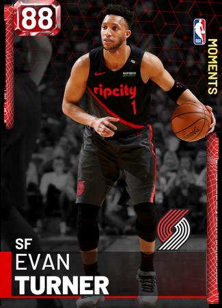 Evan Turner ruby card