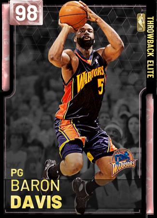 '12 Baron Davis pinkdiamond card