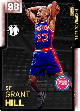 '05 Grant Hill pinkdiamond card