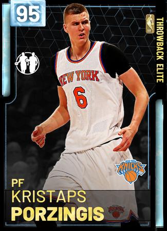 '15 Kristaps Porzingis diamond card