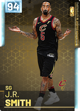 '18 J.R. Smith diamond card