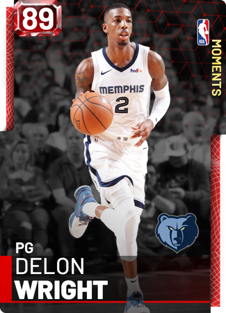 Delon Wright ruby card