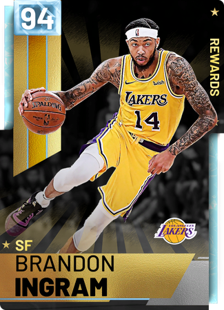 '18 Brandon Ingram diamond card