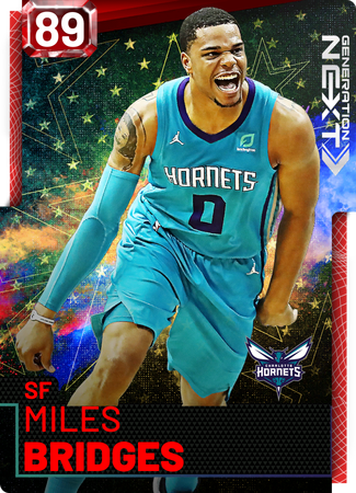 Miles Bridges ruby card