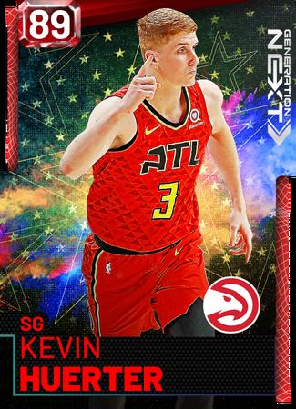 Kevin Huerter ruby card
